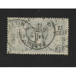 O)1877 FRANCE, KING LOUIS, NICE CONDITION, SOME DEFECTS, OUBLE CIRCLE DATE PAR