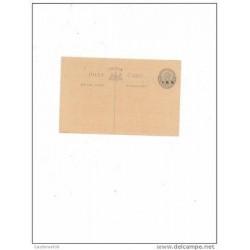 O) 1935 INDIA, POSTAL CARD, POSTAL UNUSED XF