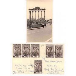 E) 1929 ITALIA. DI LABORO, POSTCARD