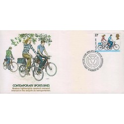G)1978 GREAT BRITAIN, BICYCLES-PEOPLE CYCLING, CONTEMPORARY SPORTS BIKES, BICYCL