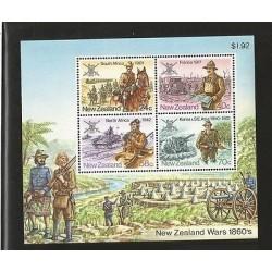 B)1984 NEW ZEALAND, SHOTGUN, CLASHES, MENS, HORSES, WARS 86`, MILITARY HISTORY