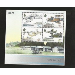 B)1987 NEW ZEALAND, AIRCRAFT, PLANES, 50TH ANNIVERSARY OF NEW ZEALAND AIR FORC