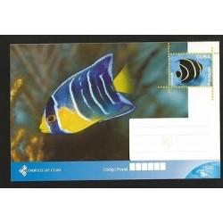 B)2015 CARIBBEAN, MARINE, SEA, TROPICAL FISH OF THE CARIBBEAN, FISH, UNUSED