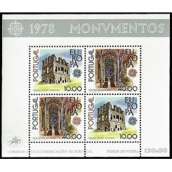 G)1978 PORTUGAL, CEPT, ROMAN TOWER BELMONTE-BELEM MONASTERY OF HIERONYMITE MONK,