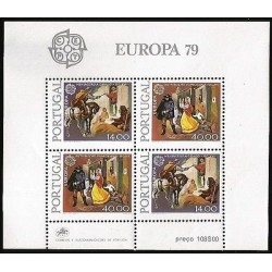 G)1979 PORTUGAL, CEPT, MAIL DELIVERY , 16TH CENTURY-MAIL DELIVERY 19TH CENTURY,