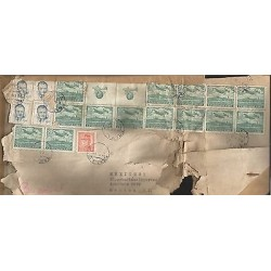 E)1940 CZHECHOSLOVAKIA, AIRPLANE, AVIATOR, PRESIDENT KLEMENT