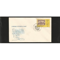 E)1972 CARIBBEAN, ACADEMY OF SCIENCES, 10TH ANNIV. 1676 A437, CAPITOL TYPE OF 1929, FDC