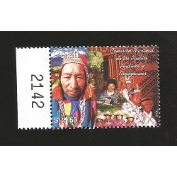 B)2002 PERU, PEOPLE, TOWN, CULTURE, NATL COMMISSION ON AANDEAN AND AMAZONIAN PEOPLES, SC 1351 A636, MNH