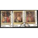 B)1998 PERU, INDIANS, CULTURE, INCA RULERS, LLOQUE YUPANQUI, SINCHI ROCA, MANCO CAPAC, SC 1187-1189 A528, S/S, MNH
