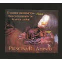 B)1998 PERU, PREHISPANIC, ARCHEOLOGY, BODY BEST KEPT IN LATIN AMERICA, PRINCESS DE AMPATO, SC 1195 A534, S/S, MNH