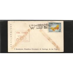E)1966 CARIBBEAN, BUTTERFLIES, FAUNA, ANIMAL, 1000 A310, MARCOPHILIA