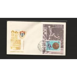 E)1973 CUBA, XX WORLD MUNICH OLYMPICS, WINS CUBA, BASKETBALL, FDC