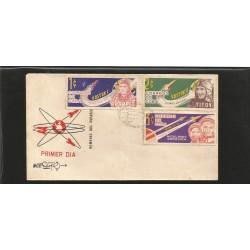 E)1964 CARIBBEAN, SOVIET SPACE FLIGHT, SC A263, SPACECRAFT AND COSMONAUTS, ROCKET