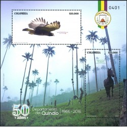 RO) 2016 COLOMBIA,QUINDIO-EJE CAFETERO-VALLE COCORA-THE COFFEE,TREE CEROXILON QUINDIUENSE-PALMA DE CERA-SPIZA