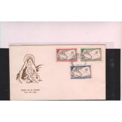 O) 1969 PERU, CHRISTMAS, FDC XF
