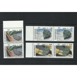 O) 1991 HONDURAS, AMERICA UPAEP, PRE-COLUMBIAN CULTURES IN STONE CARVING-OLMECA, TOLTECA AND MAYA, SET MNH