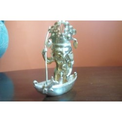 O) COLOMBIA, FISHERMAN, TUMBAGA DETAILS ABOUT COPPER AND GOLD ALLOY, COLUMBIAN F