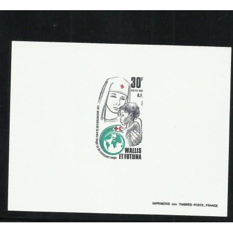 o) 1988 WALLIS AND FUTUNAR, PROOF, RED CROSS - NURSING, XF