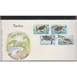 O) 1986 PITCAIRN ISLANDS, TORTOISE, CHELONIA, PITCAIRN, FDC XF