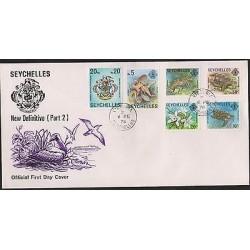 O) 1978 SEYCHELLES, OCTOPUS PIEUVRE, CRAYFISH - LANGOST, GIANT TORTOISE, ORCHIDS