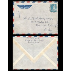 B)1960 SWITZERLAND, BUILDING, CATHOLIC, ARCHITECTURE, CHURCH BELINZONA, SC 393 A145, AIRMAIL, XF