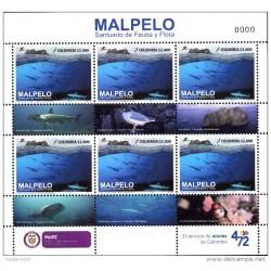 O) 2016 COLOMBIA, NATURAL HERITAGE OF HUMANITY OCEAN ISLAND -MALPELO, CARTOR, SPHYMA, GREAGUS, RHINCODON TYPUS, CARCHARHINUS