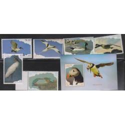 O)2016 CARIBE, ACUATIC BIRDS,BRANTA CANADENSIS, PHAETHON,ALCEDO,THRESKIORNIS,ANAS PLATYRHYNCHOS, FRATERCULA