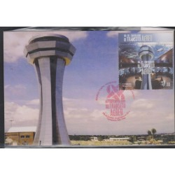 O) 2014 MEXICO, AVIATION -CONTROL TOWER AIR TRAFFIC AIR- TRAFFIC CONTROLLER, MAXIMUM CARD, XF