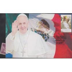 O) 2016 MEXICO, POPE FRANCISCO - MARIO BERGOGLIO, VISIT TO MEXICO, MAXIMUM CARD XF