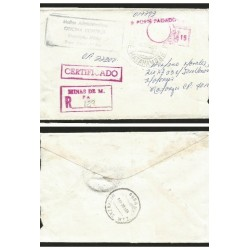O) 1995 CARIBE, CERTIFIED MAIL - REGISTERED, TO MINAS DE MATAHAMBRE, F.