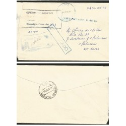 O) 1995 CARIBE, CERTIFIED MAIL - REGISTERED, TO PINAR DEL RIO, F.