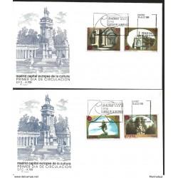 J) 1991 SPAIN, EUROPEAN CAPITAL OF CULTURE, SOURCE OF APOLLO, ALVARO DE BAZAN, INSTITUTE OF SAN ISIDRO