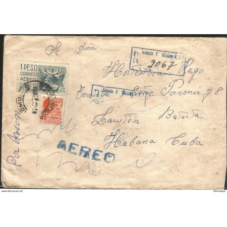 J) 1959 MEXICO, PUEBLA, DANCE OF THE MOON, TABASCO ARCHEOLOGY, MULTIPLE STAMPS, REGISTERED, AIRMAIL