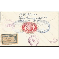O) 1951 CARIBE, AMERICA UPAEP, NATALICIO ISABEL LA CATOLICA -MOTHER OF AMERICA,CARAVEL- VESSEL BOATING, FDC XF