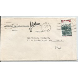 J) 1969 MEXICO, COMMERCIAL LETTER, SERVICES OF PHILATELIC NOVELTIES, TAKING OF ZACATECAS, CIRCULATED