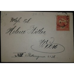 O) 1904 CIRCA-HUNGARY,TURUL AND CROWN OF ST STEPHEN SCT 55 10f, XF