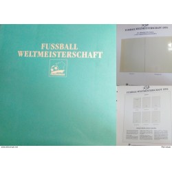 J) 1997 FRANCE, FOOTBALL, CHAMPIONSHIP OF THE WORLD, EMPTY FOLDER, FINE
