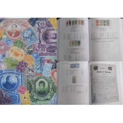 J) 2018 MEXICO, BOOK, RENUEVE STAMPS, COLOR FULL, VERSION IN ENGLISH, 557 PAGES, XF