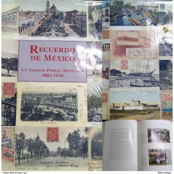 J) 1994 MEXICO, MEMORIAL OF MEXICO, THE MEXICAN POSTCARD,COLOR FULL, VERSION IN SPANISH, 167 PAGES