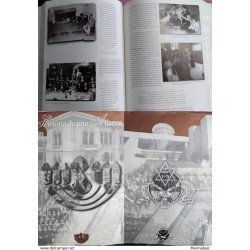 J) 1999 MEXICO, BOOK, HISTORY OF AN ALLIANCE MONTE SINAI, BLACK AND WHITE, SPANISH VERSION, 487 PAGES, XF