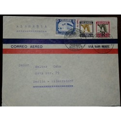 O) 1964 CARIBE, IMPERFORATE, COW-FISH-CHICNKENS - FOOD EMPOWERMENT-BREEDING ANIMALS IN THE FIELD, SCOTT A281, MNH