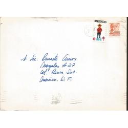 J) 1969 MEXICO, TB SEALS, TYPICAL CUSTOMES, CANADA, ARCHEOLOGY, TABASCO, OLMECA HEAD