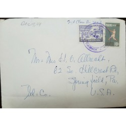 O) 1959 PANAMA, BOYS DOING FARM WORK - SCT RA36, PAN AMERICAN GAMES - CHICAGO -SCT C225, AIRMAIL TO USA