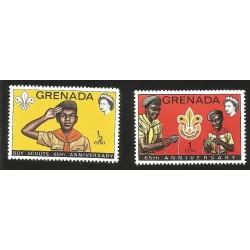 V) 1972 GRANADA, BOY SCOUTS, 65TH ANNIVERSARY OF THE BOY SCOUTS
