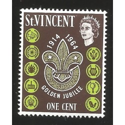 V) 1964 SAINT VINCENT, BOY SCOUTS, GOLDEN JUBILEE 1914-1964