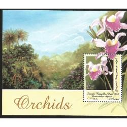 V) 1998 SOMALIA, FLOWERS, ORCHIDS, BRASSOCATTLEYA DIFTANII, MNH