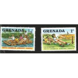 V) 1977 GRENADA SIXTH CARIBBEAN BOY SCOUT JAMBOREE, MNH