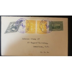 O) 1943 CARIBE, ECONOMIC SOCIETY FRIENDS OF THE COUNTRY FROM 1793 - COAT GREEN, BLOCK MNH