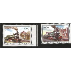 V) 2010 BELARUS, TRAINS, STEAM ENGINES, LOCOMOTIVES, TRANSPORT, RAILWAYS, MNH