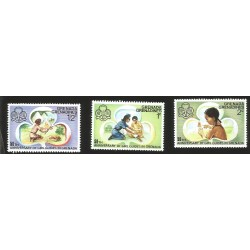 V) 1976 GRENADA, 50TH ANNIVERSARY OF GIRL GUIDES IN GRENADA, MNH